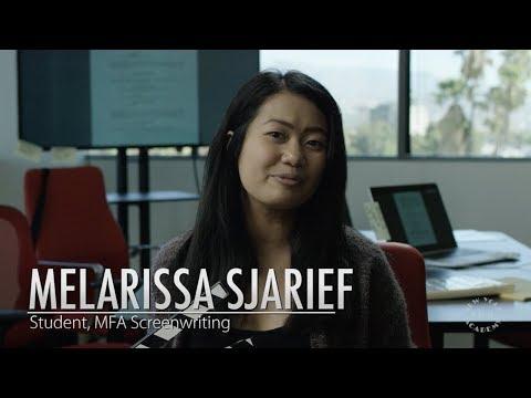 NYFA Spotlight on MFA Screenwriting Student Melarissa Sjarief ...