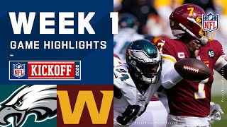 Eagles vs. Washington Football Team Week 1 Highlights | NFL 2020