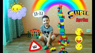 ОГРОМНАЯ пирамида из ЛЕГО!!!!