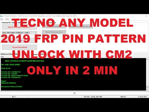 How To Reset FRP Infinix HOT 6 X606 BY CM2-MTK Dongle