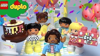 Learn With LEGO - Happy Birthday Song | EARTH DAY Nursery Rhymes  | Cartoons And Kids Songs