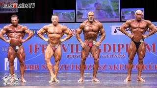 2012 World Championships BUDAPEST   master bodybuilding 50 59y over 80kg