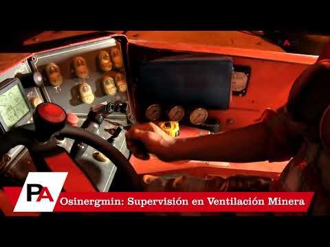 OSINERGMIN: Supervisión en Ventilación Nancy Herrera