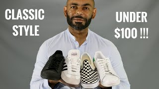 12 Most Stylish Classic Mens Sneakers Under $100/Best Classic Sneakers Under $100