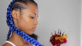 Feed-in Braids w/Kanekalon braiding Hair