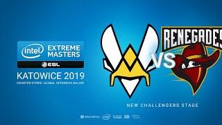 Vitality vs Renegades - IEM Season XIII - Katowice Major - map1 - de_ dust2 [Gromjkeee & PCH3LK1N]