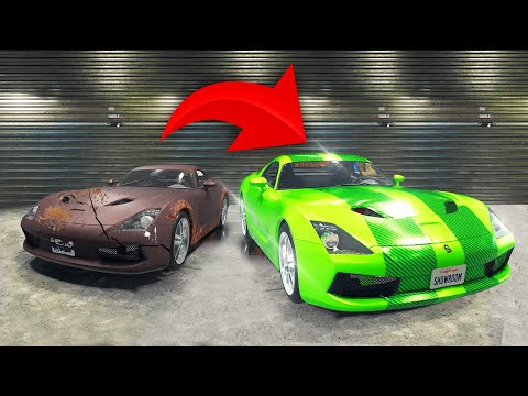TURNING A $1,000 CAR INTO A $1,000,000 CAR! (Car Mechanic Simulator)