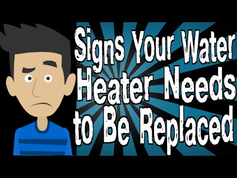 Signs Your Water Heater Needs to Be Replaced