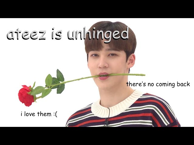 ateez moments that send me over the edge