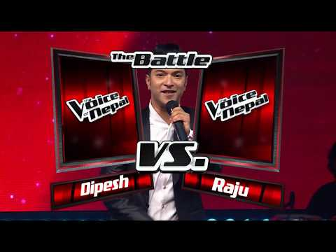 "Dipesh & Raju - ""K Bhanne Hamro Samaya"" - Battle Round - The Voice Of Nepal 2018 Mp3"
