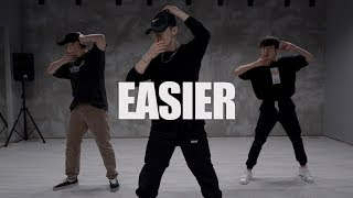5 Seconds Of Summer   Easier  Jin.C Choreography Dance