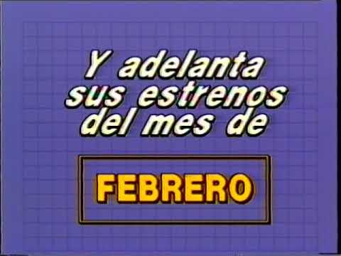 Transeuropa Video Entertainment - VHS Argentina - Febrero 1991