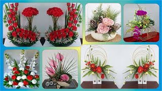 Modern Silk Flower Arrangements Unique  | Home Decor Flower Arrangements
