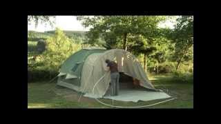 Karsten Air tent設営
