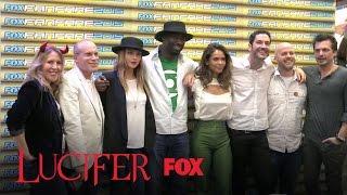 Comic Con 2015   Lucifer - Fans Reactions (10.07.15)