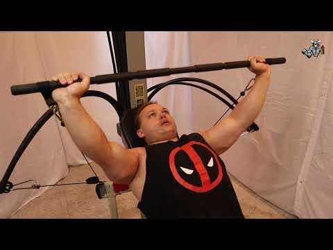 Bowflex Chest Beginner Workout (Bench Press, Cable Press, Cable Flys)