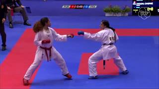 Highlights of Day 01 of Karate's Youth Olympic qualification tournament