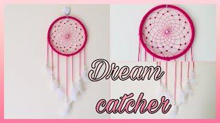 Diy Dream Catcher|| Easy Dream Catcher Webbing Tutorial|| Diy Dream Catcher Step By Step Tutorial