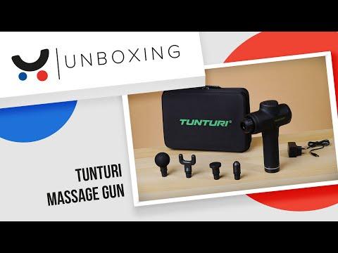 Masažuoklis Tunturi Massage Gun kaina ir informacija | Masažuokliai | pigu.lt