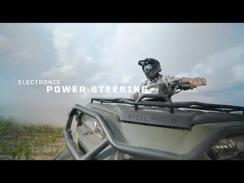 2021 Polaris Sportsman 450 H.O. Utility Package in Woodstock, Illinois - Video 1