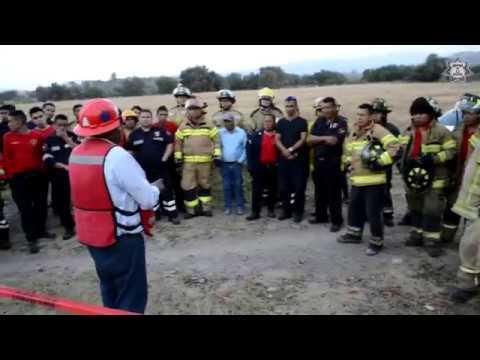 Bomberos de Chimalhuacán se capacitan en fugas de gas natural