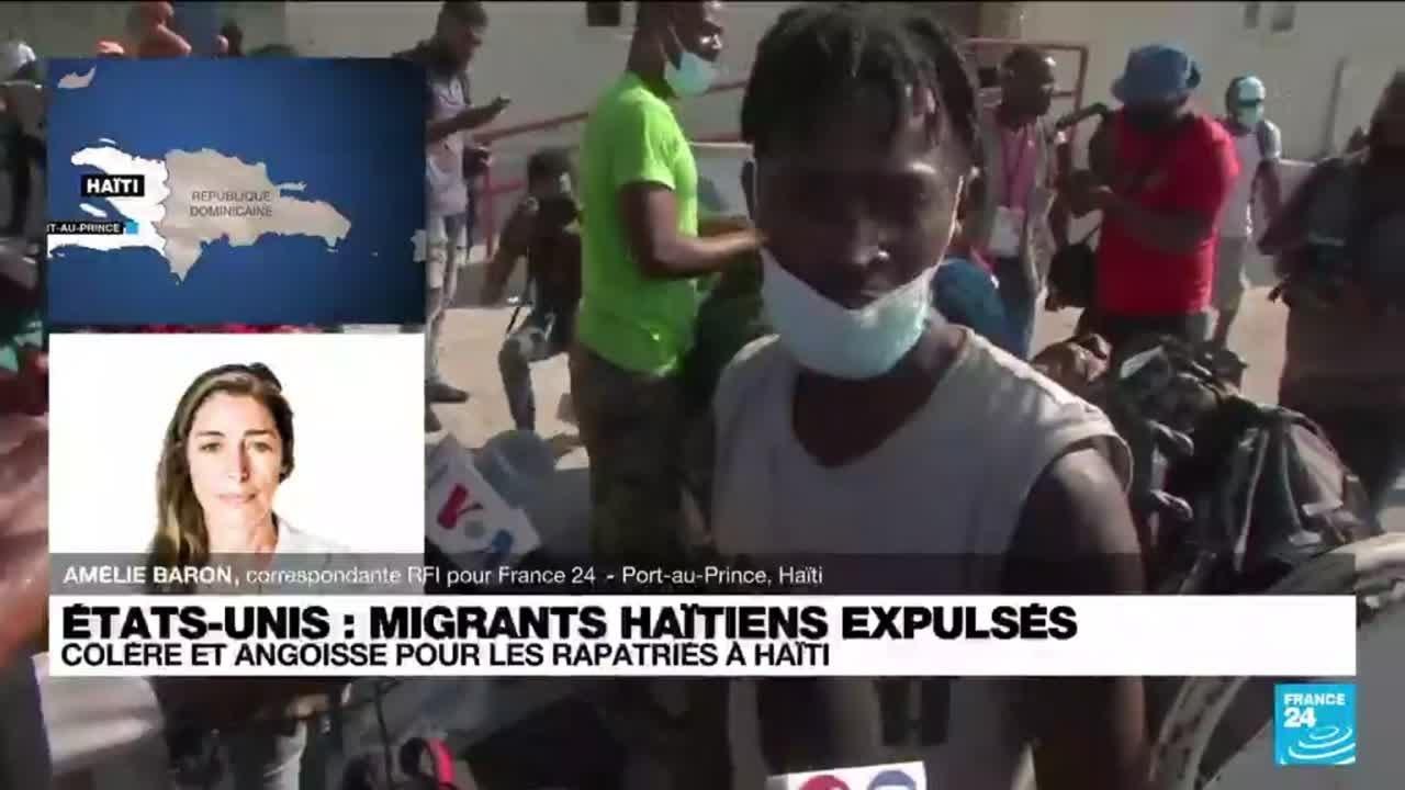 """""""Les Haïtiens témoignent des traitements inhumains à la frontière du Texas"""" • FRANCE 24"""