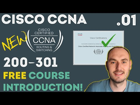Cisco - CCNA Certification 200-301 - Introduction .01 - YouTube