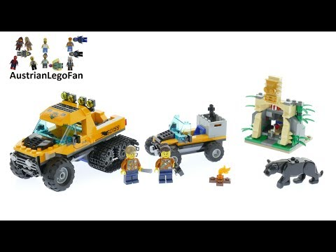 Vidéo LEGO City 60159 : L'excursion dans la jungle