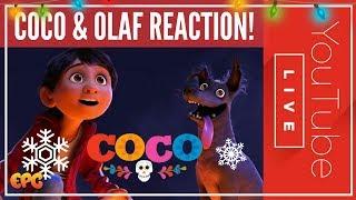 COCO PIXAR'S BEST NEW MOVIE? OLAF'S FROZEN ADVENTURE REVIEW!