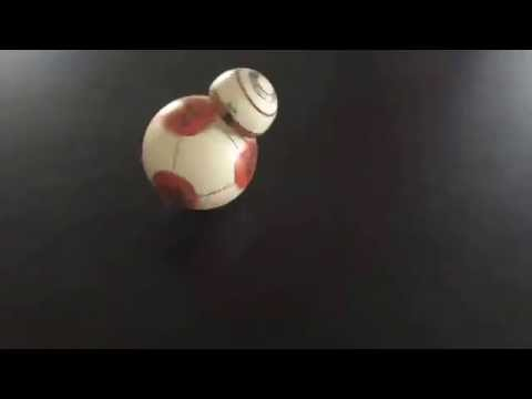 Some Genius Made A Tiny Working Replica Of The Force Awakens' BB-8 Droid