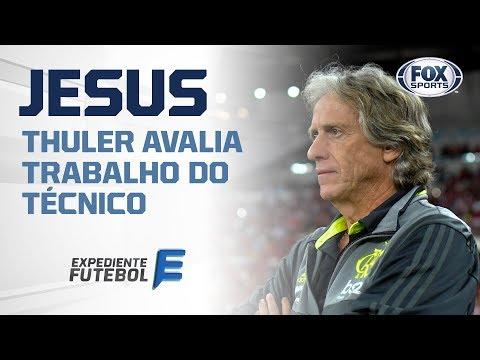 THULER AVALIA TRABALHO DE JORGE JESUS NO FLAMENGO