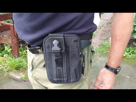 Тактическая поясная сумка WANAYOU Tactical waist bag