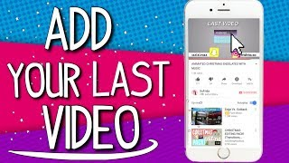 HOW TO ADD YOUR LAST VIDEO FROM YOUR IPHONE