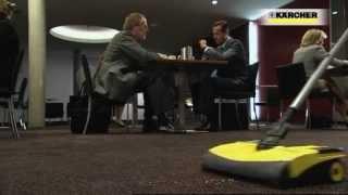 Вертикальный пылесос Karcher EB 30/1 от компании АвтоСпец - видео