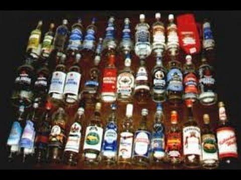 Die schnelle Trunkenheit des Alkoholismus