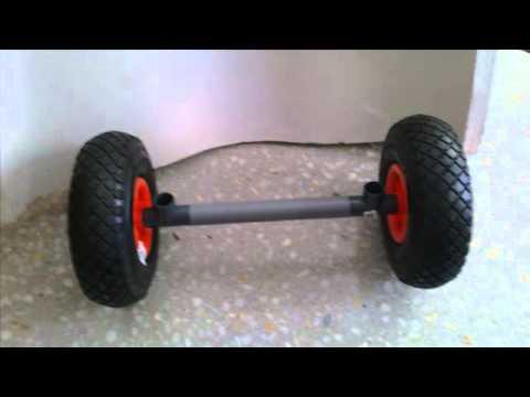 carrito para kayak/ kayak cart