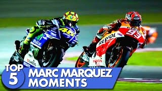 Top 5 Marc Marquez Moments