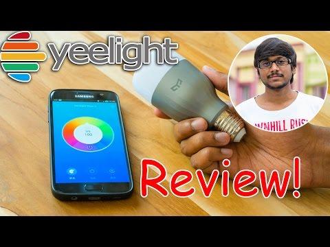 Xiaomi Yeelight LED Bulb Review | RGBW 9Watt Smart Light