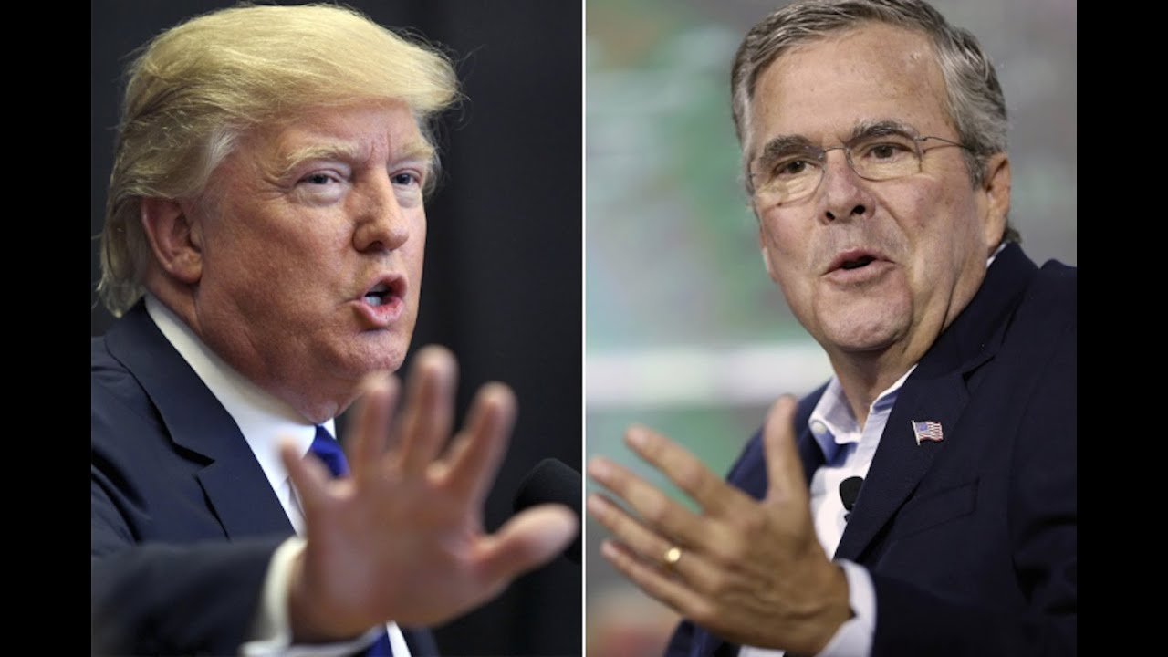 Trump's TWITTER Rampage Over JEB thumbnail