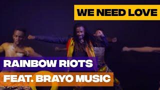 """""""Szükségünk van a szeretetre"""" - üzeni a Rainbow Riots"""