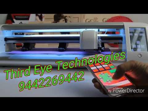 Digital graphics Vinyl Cutting Machine