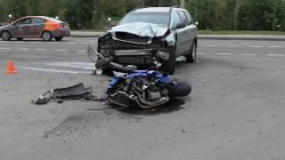 Мотоциклист погиб в результате ДТП на западе Москвы