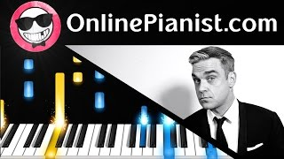 Robbie Williams   Angels   Piano Tutorial & Sheets Easy   How To Play