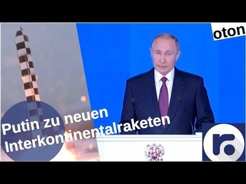 Putin über neue Interkontinentalraketen auf deutsch [Video]
