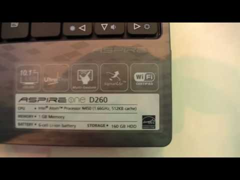 Hands On - Acer Aspire One D260