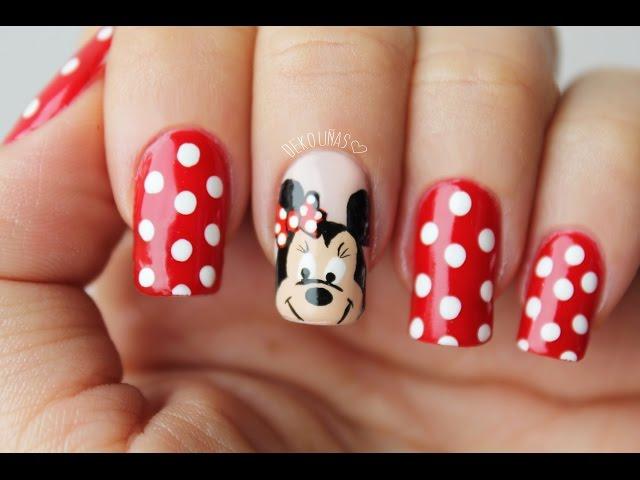 Decoracion De Uñas Mickey Mouse uñas decoradas 2018 uñas decoradas ...