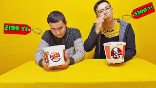 KFC Vs BURGER KING | Кім мықты?