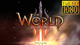 The World 3: Rise Of Demon Game Review 1080P Official Good Games Llc Action 2016