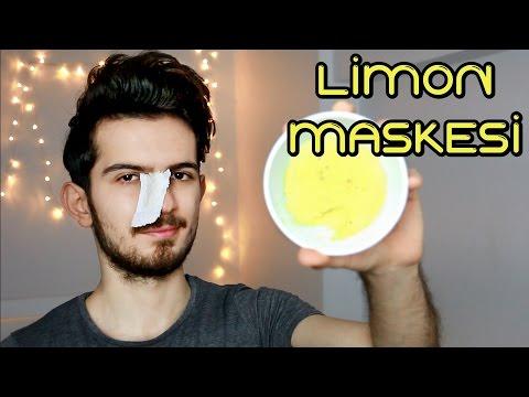 Doğal Limon Maskesi │ Gözenek Sıkılaştırma , Siyah Nokta Giderme... │ Aras Barlas