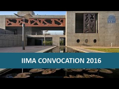Director's Address, IIMA's 51st Convocation, March 2016